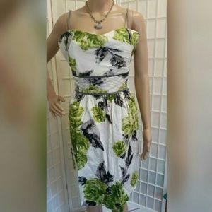 NWOT Floral spaghetti strap dress 16